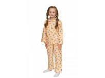 Пижама для девочки, модель 307, фланель