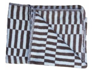 """Одеяло 1,5-спальное """"Байковое"""", клетка"""