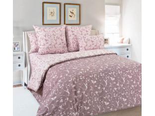Комплект постельного белья Евростандарт, поплин (Габриэль, розовый)