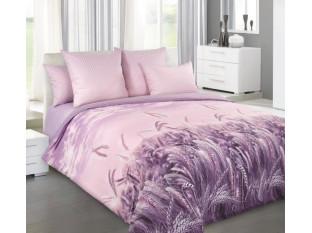 Простыня 1,5-спальная, перкаль (Утренние лучи, розовый (компаньон))