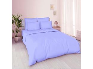 Пододеяльник 2-спальный, поплин гладкокрашенный (Голубая фиалка)