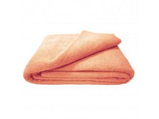 Махровая простыня 180*220 см г/кр (Персиковый)