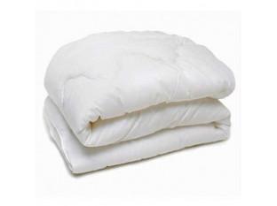 Одеяло холлофайбер 1,5сп бязь отбеленная